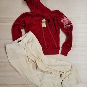 Juicy Couture sweatsuit outfit women's size small